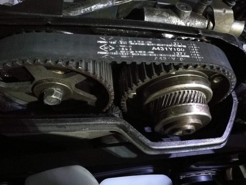 Замена ремня ГРМ на Toyota Crown 1997